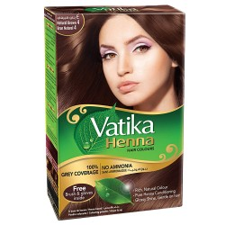 Vatika Henna Dark Brown...